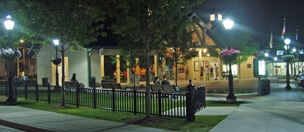 Riley Park at Night